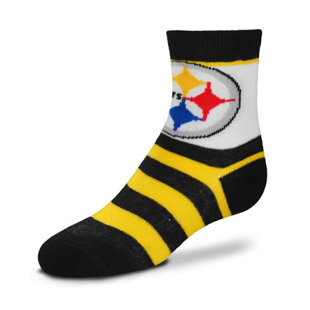 Bare Feet Clothing Store (Pittsburgh Steelers For Bare Feet Toddler Rugby Stripe Socks - No Size)