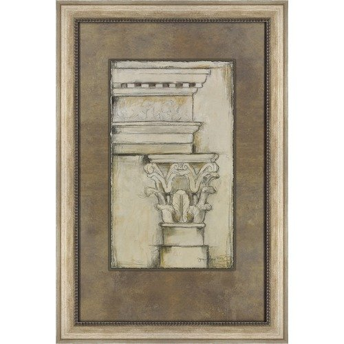 Decorative Arts International Cornice Rendering II by Jennifer Goldberger Wall Art - 39'' x 26''