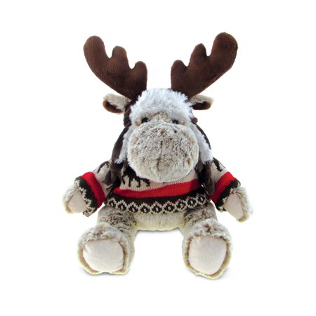 Super Soft Plush With Clothes - Moose