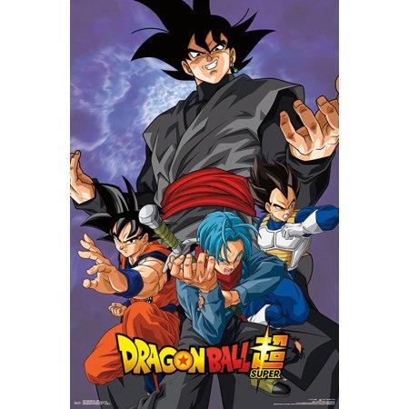 Dragon Ball Super - Villain (Goku Super Saiyan Poster)