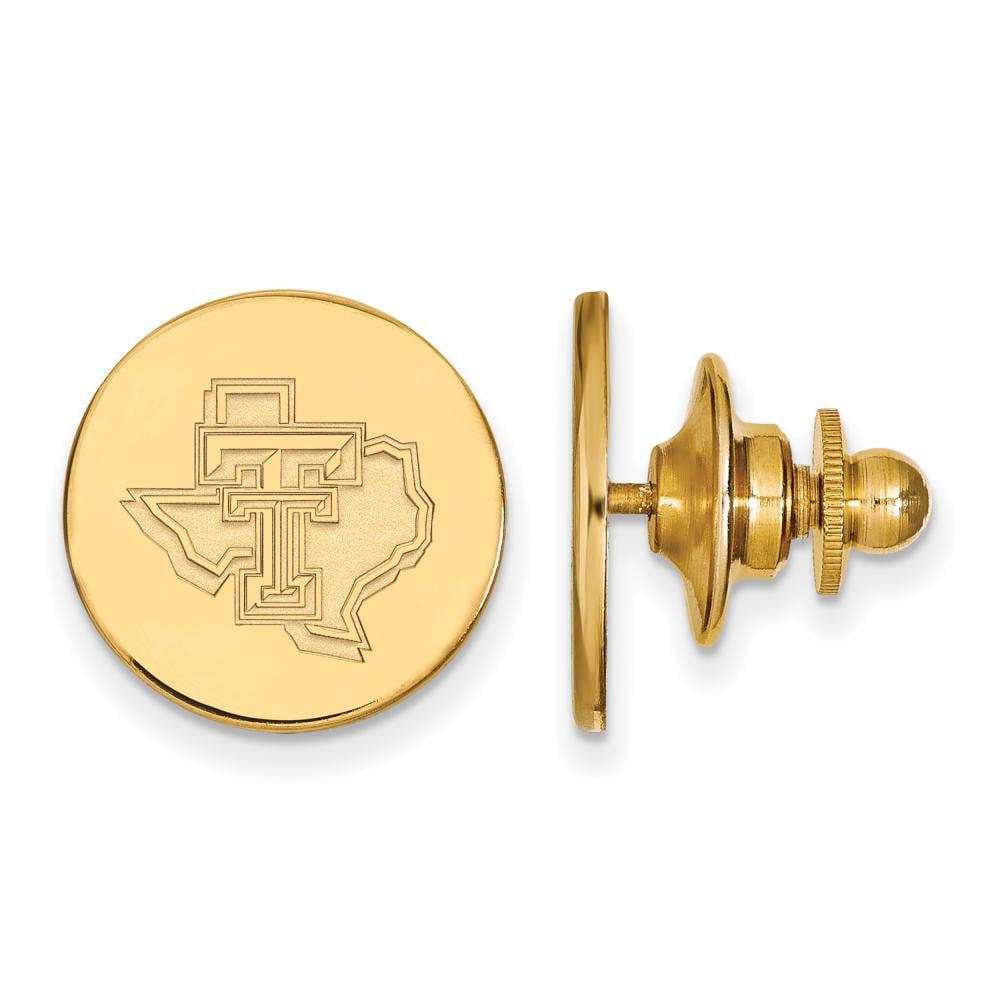Texas Tech Lapel Pin (Gold Plated)