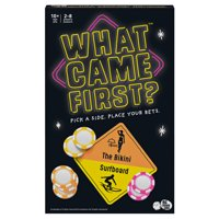 What Came First, A Party Game About Picking Sides and Betting Big, for Kids, Teens, and Adults