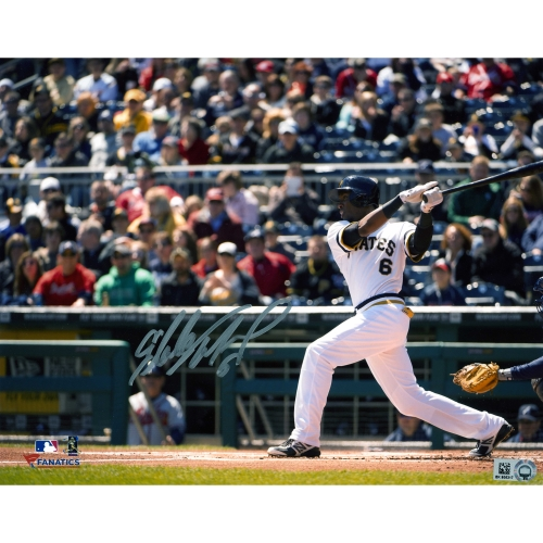 "Starling Marte Pittsburgh Pirates Fanatics Authentic Autographed 8"" x 10"" Horizontal Hitting Photograph - No Size"