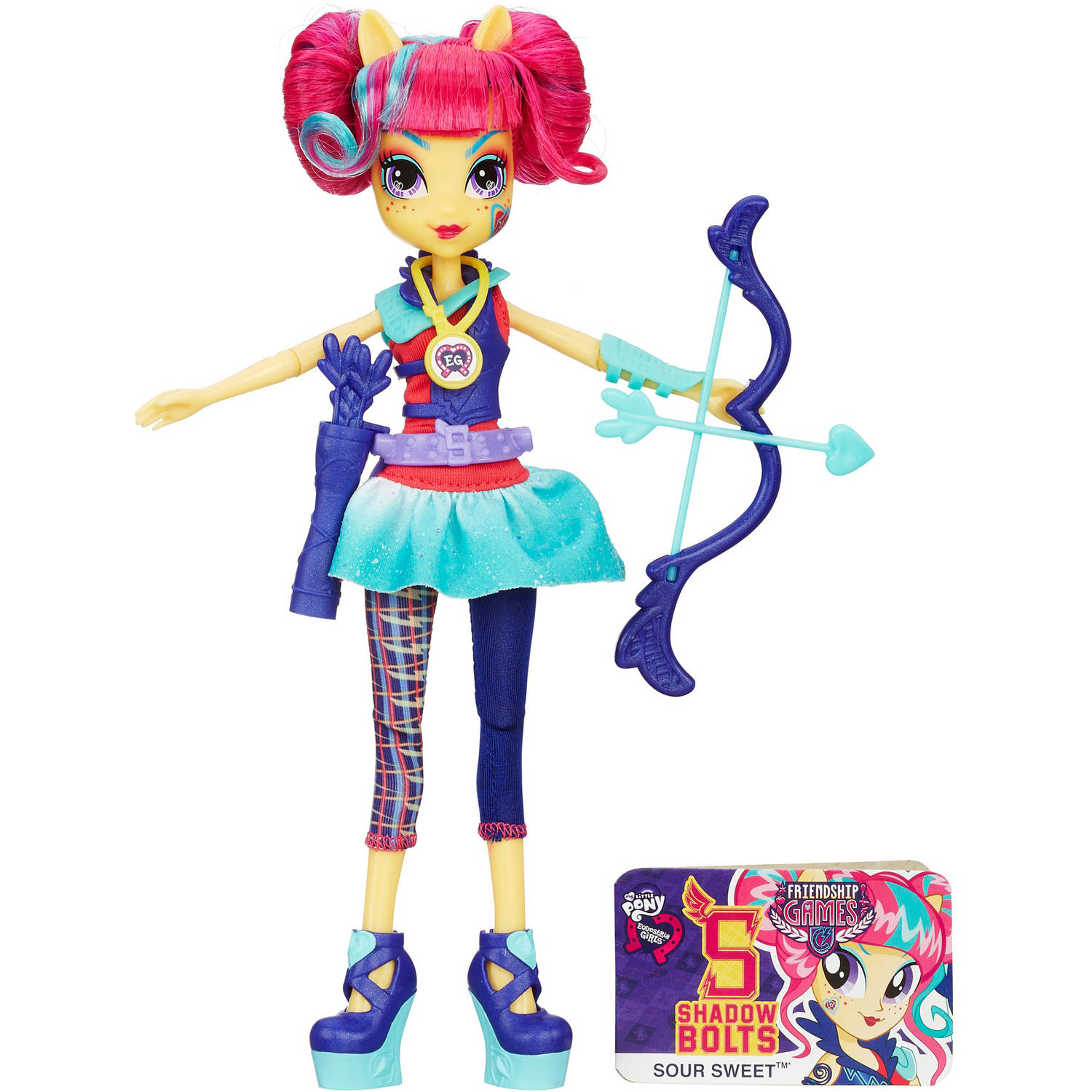 My Little Pony Equestria Girls Sour Sweet Sporty Style Archery Doll by Generic