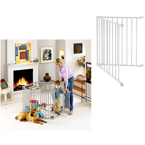 North States 3-in-1 Metal Superyard with Extension Kit