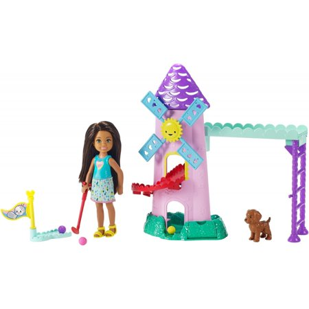 Barbie Club Chelsea Mini Golf Playset with Chelsea Doll