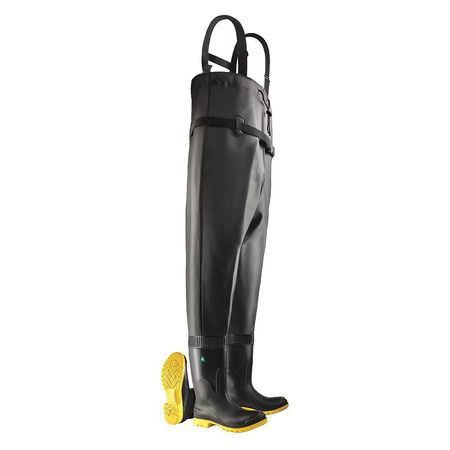Dunlop ONGUARD 868671133 Chest Waders, Steel Toe, Mens, 1...
