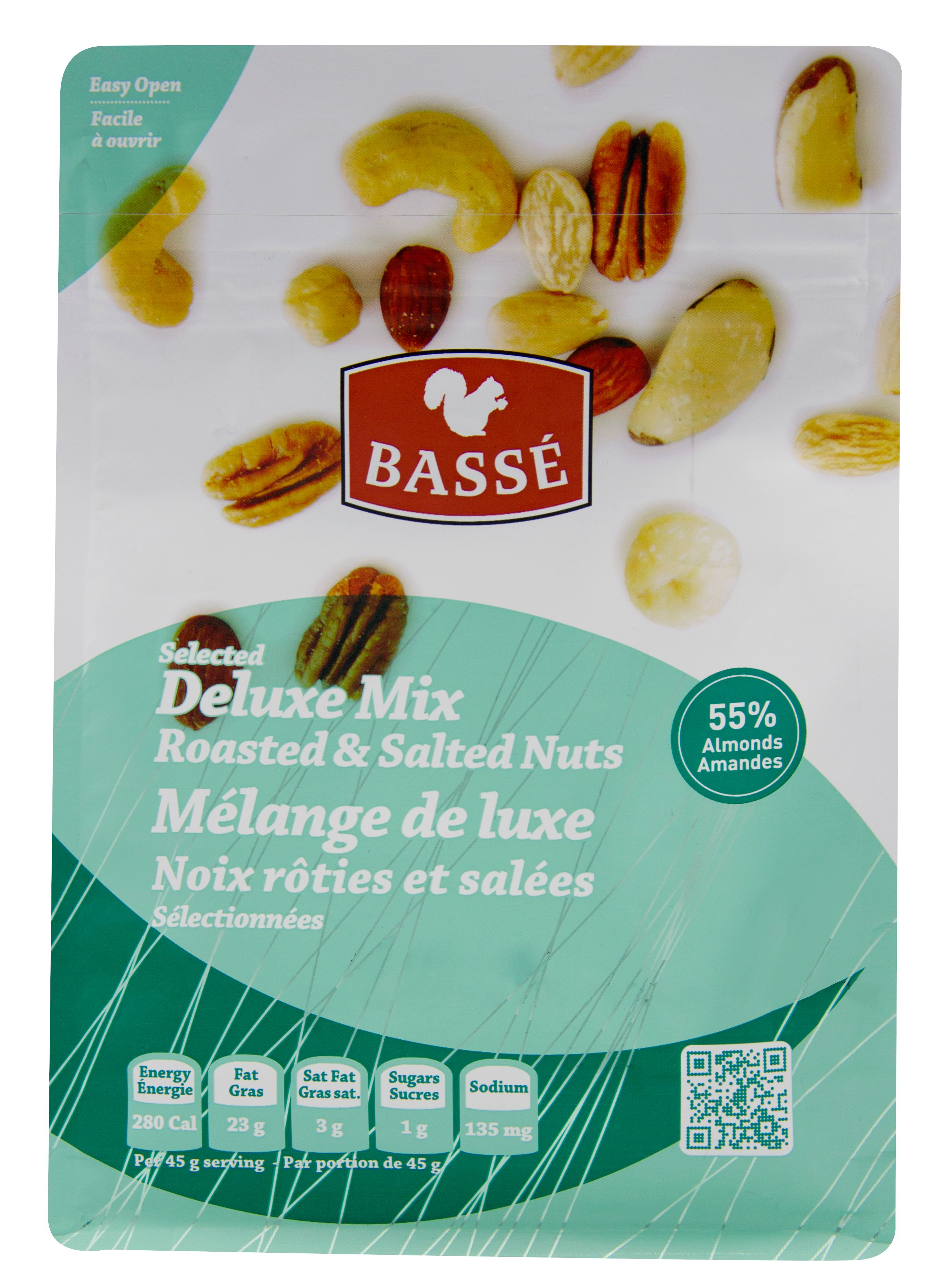 Basse Selected Deluxe Mix Nut & Seed Health Mix (7oz.) Hazelnuts Brazil Nuts Cashews... by Basse Nuts