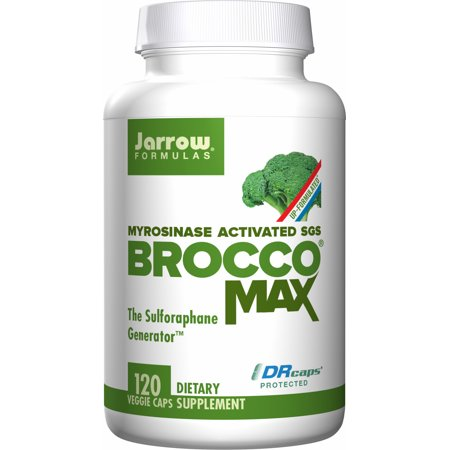 Natural Balance Liver Formula (Jarrow Formulas Broccomax Nutritional Supplements, Assists in Cell Replication and Liver Health, 120 Veggie)