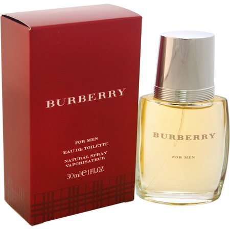 Burberry For Men Eau De Toilette Natural Spray  1 7 Fl Oz