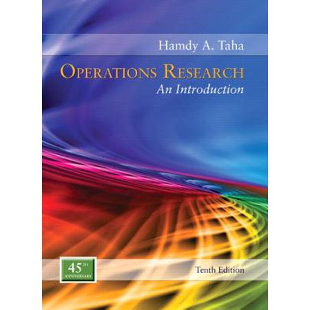 Operations Research : An Introduction (Best Operations Research Textbook)