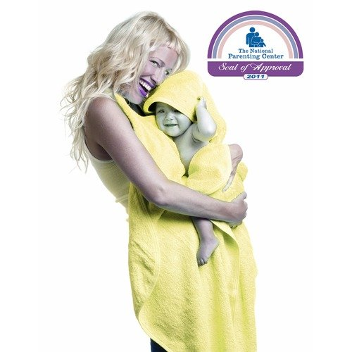 Simply Good Hands Free Hooded Baby Towel in Yellow