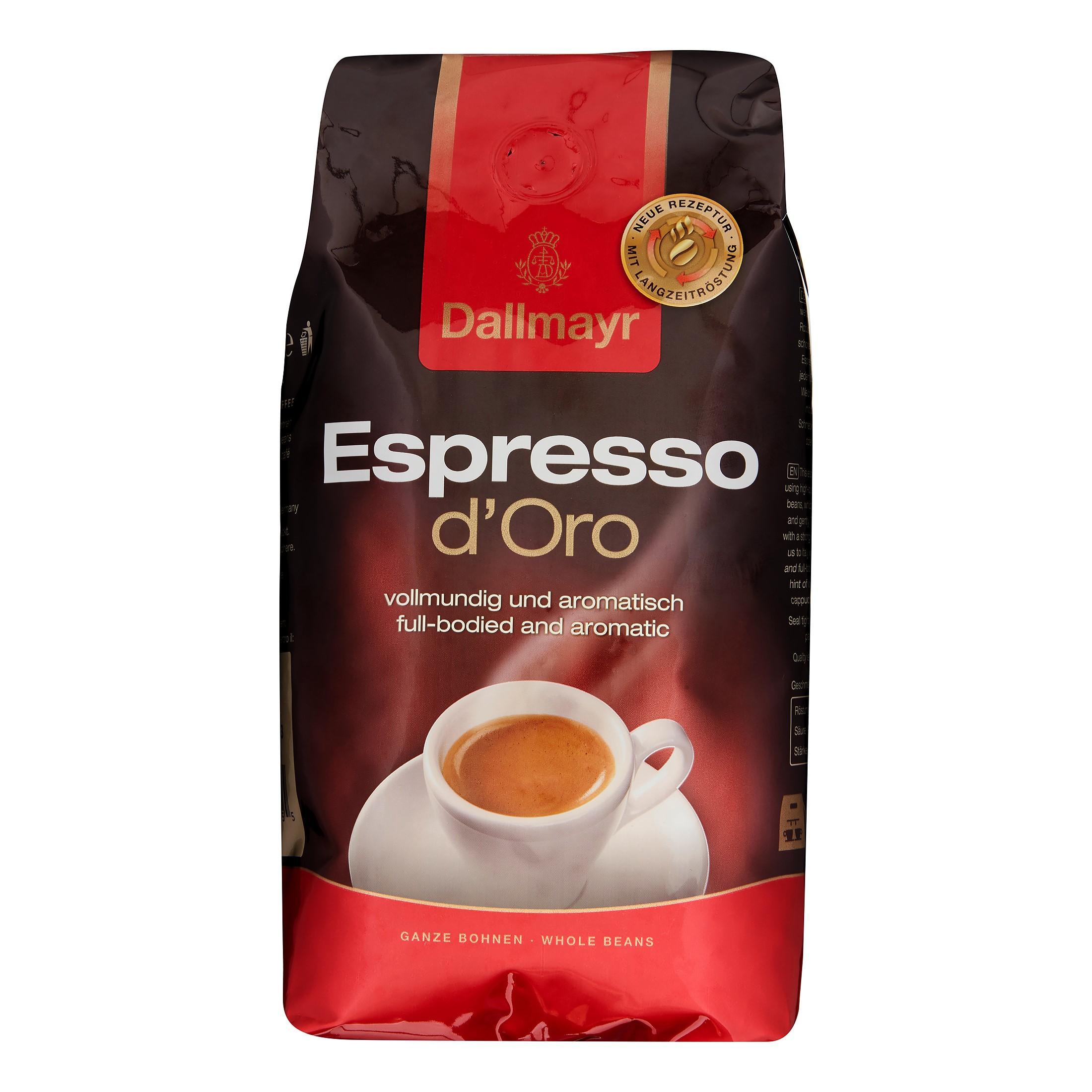 Dallmayr Espresso D'Oro Whole Bean Coffee, 17.6 Oz