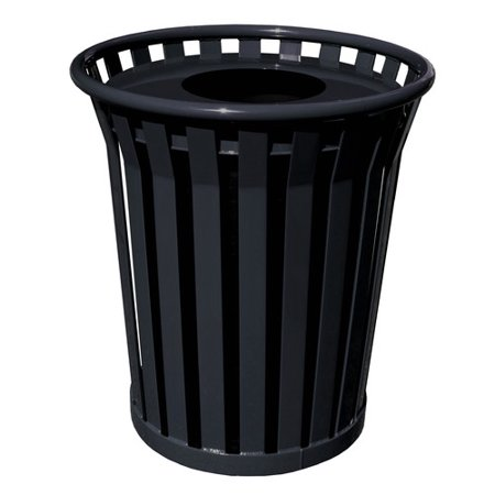 Outdoor Trash Receptacle - Witt Wydman Receptacle 36 Gallon Trash Can