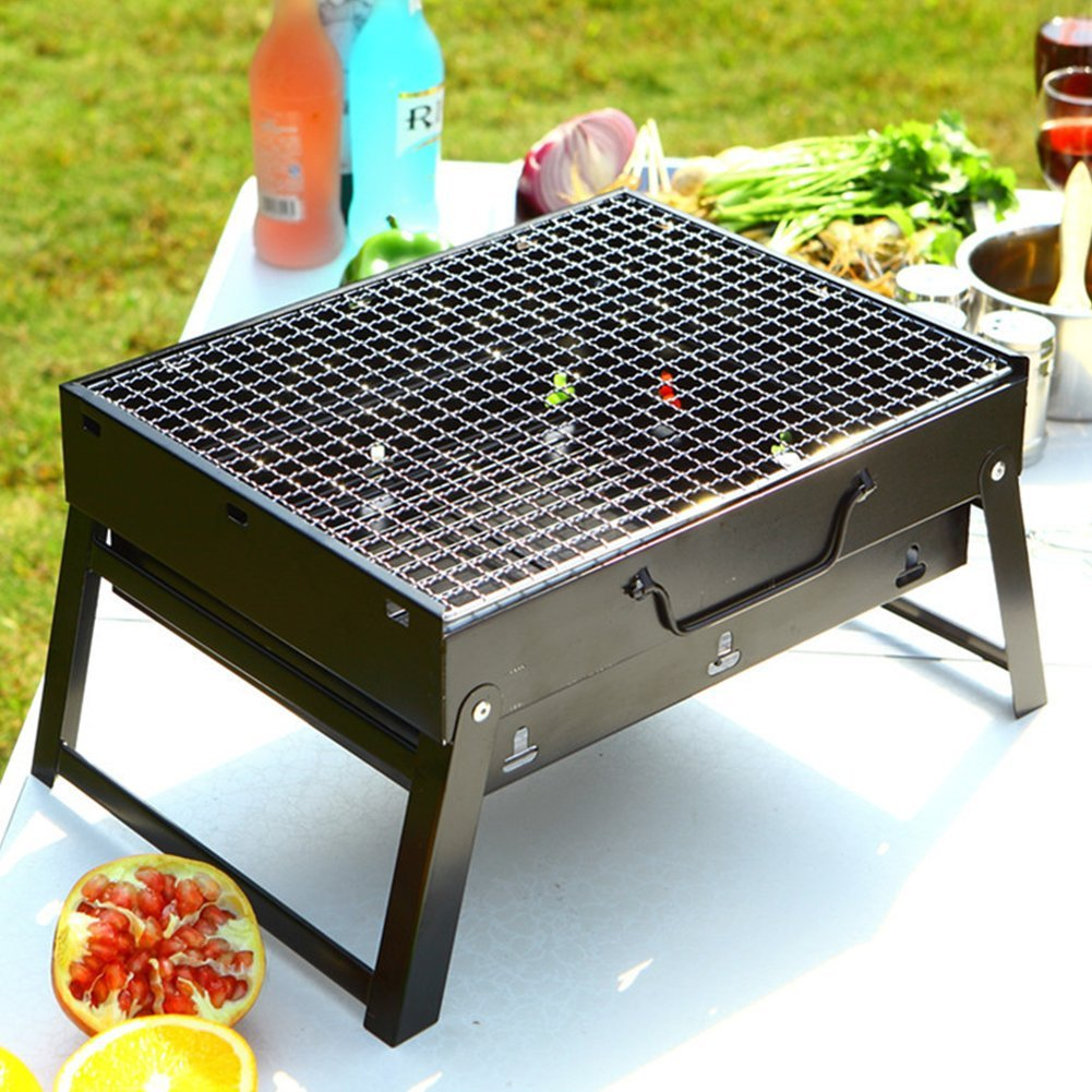 Ktaxon Mini portable Folding bbq grill barbecue grill camping bbq outdoor cooking