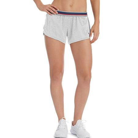 Champion Women's Reversible Mesh To Jersey Shorts -