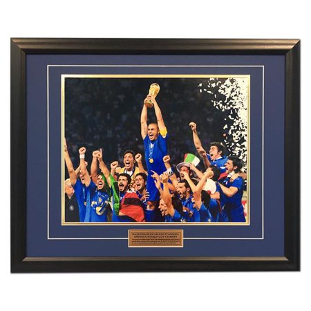 - AJ Sports World TEAM00056A 25 x 31 in. Italy Football 2006 FIFA World Cup Champions Soccer Frame