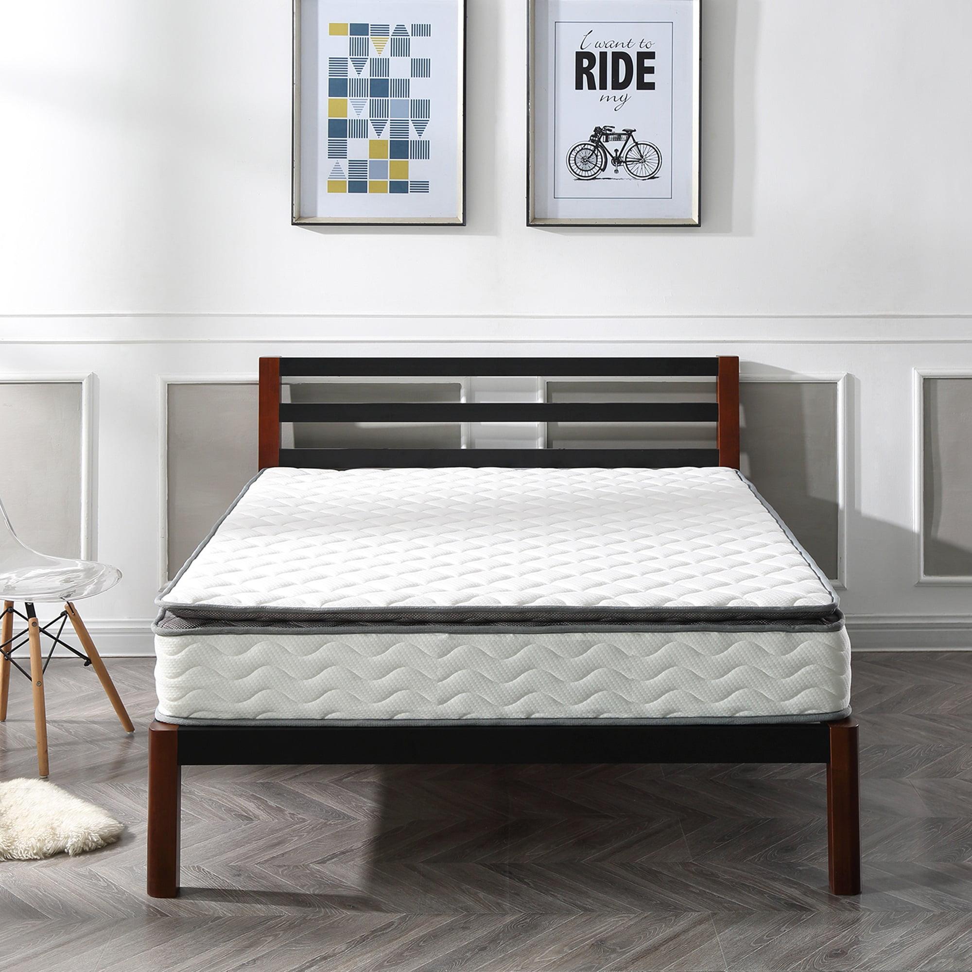 Modern Sleep Galen Pillow Top Innerspring 10-Inch Mattress, Multiple Sizes