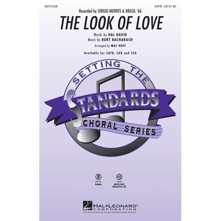 Hal Leonard The Look of Love SATB by Sergio Mendes & Brasil '66 arranged by Mac Huff (Love Brazil)