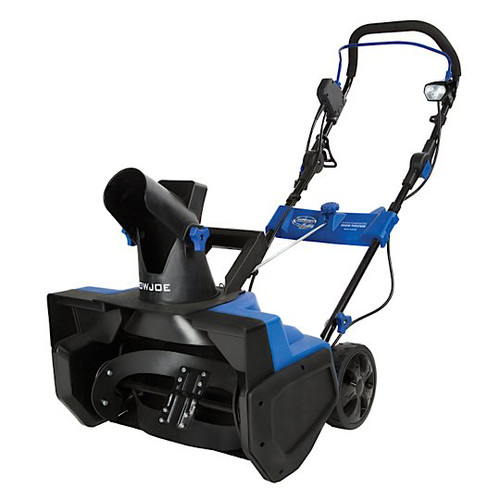 Snow Joe SJ619E Electric Single Stage Snow Thrower | 18-Inch · 14.5 Amp Motor | LED Lights