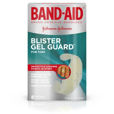 Band-Aid Brand Blister Protection, Adhesive Bandages for Fingers and Toes, 8 Count