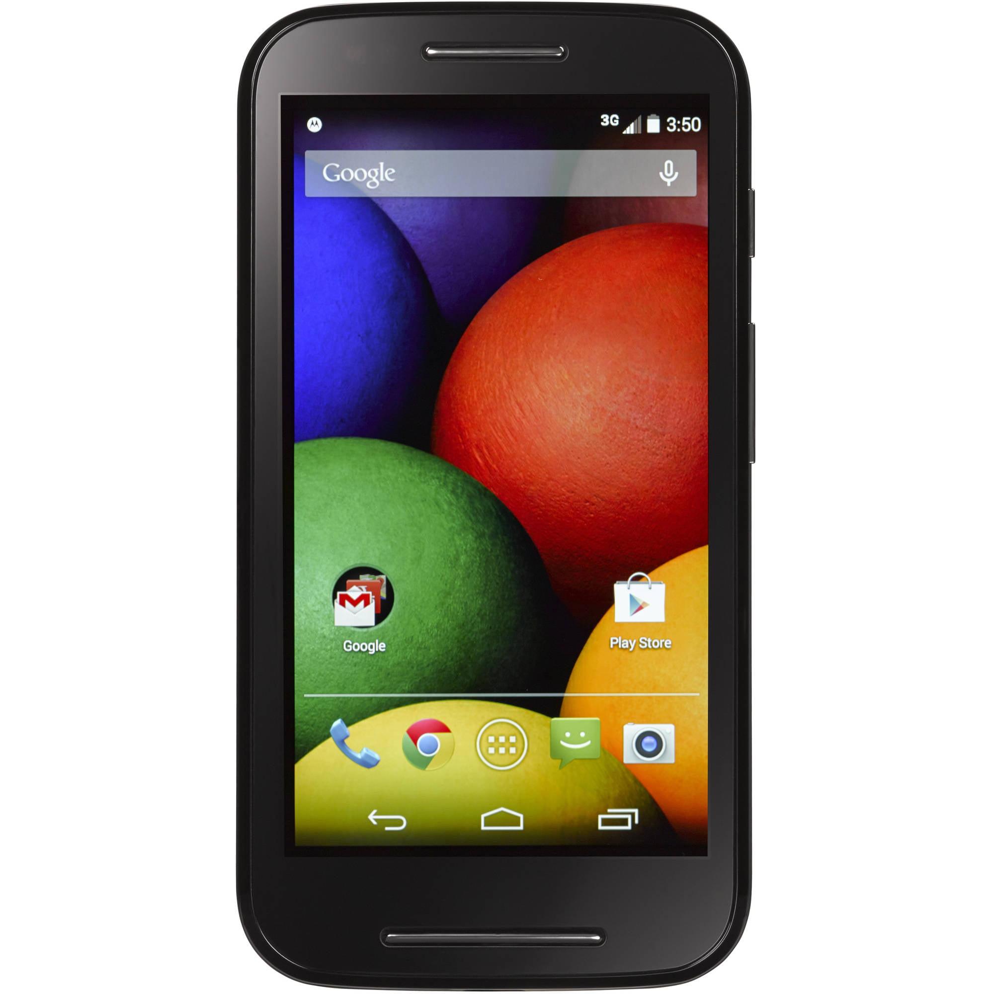 Tracfone Motorola E 3G Android Prepaid Smartphone