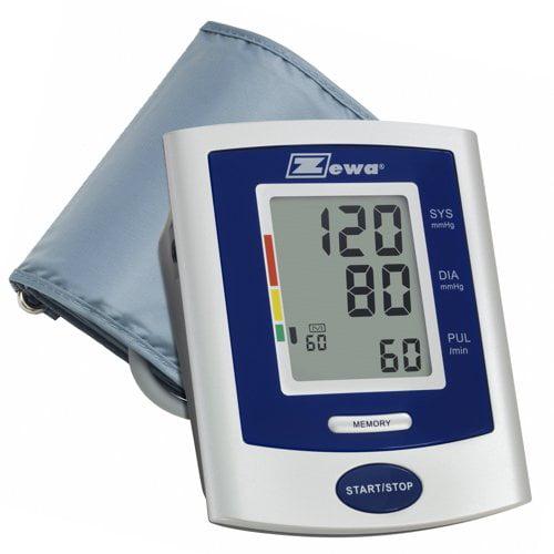 "Zewa UAM-830 Automatic Blood Pressure Monitor, XL Cuff (13.4""-18.9"") Easy to Use"