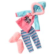"""My Life As Pink & Blue """"Stay Wild"""" Bear Outfit and Boots for 18"""" Dolls, 4 Pieces"""