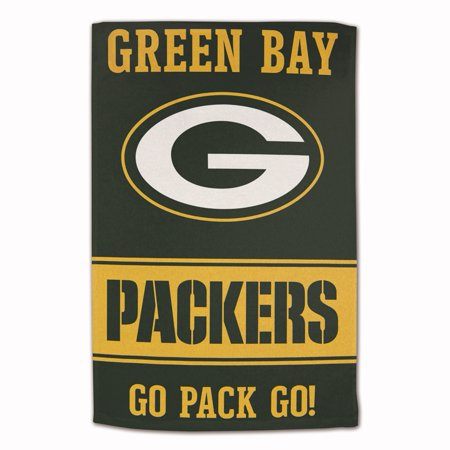 Green Bay Packers Sublimated Cotton Towel - 16