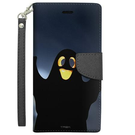 Apple iPhone 6 Plus Wallet Case - Cute Halloween Ghost