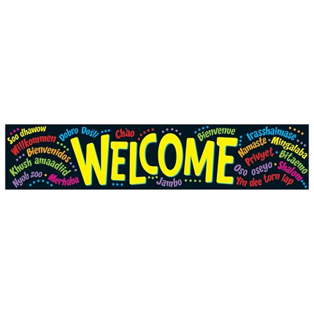Quotable Expressions Banner, WeWalmarte (T-25038), This eye-catching banner features a motivating message to keep kids inspired for learning Success By Trend Enterprises