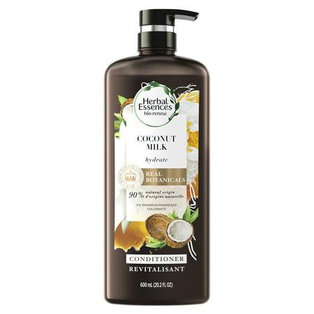 Herbal Essences bio:renew Coconut Milk Hydrating Conditioner, 20.2 fl oz (Sebastian Hydrating Conditioner)