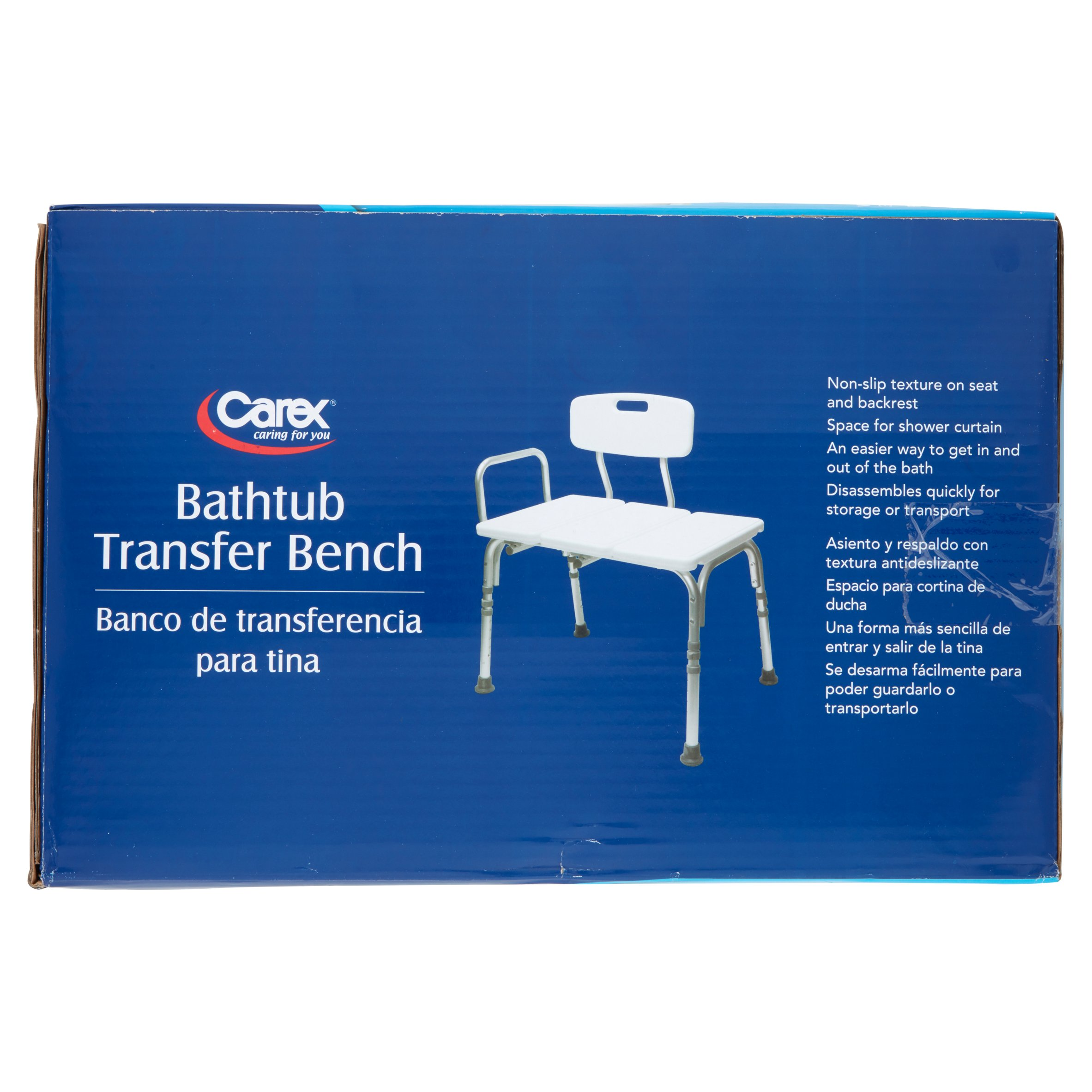 Carex Transfer Bench - Walmart.com
