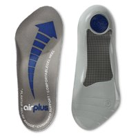 Airplus Plantar Fascia Orthotic Shoe Insole for Extra Cushioning, Men's, Size 7-12