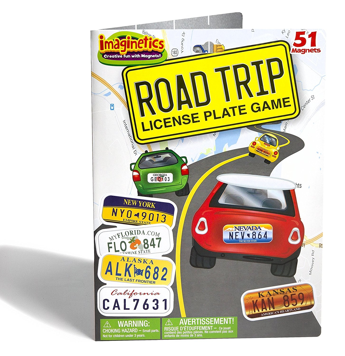 International Playthings   Imaginetics Road Trip! License Plate Game