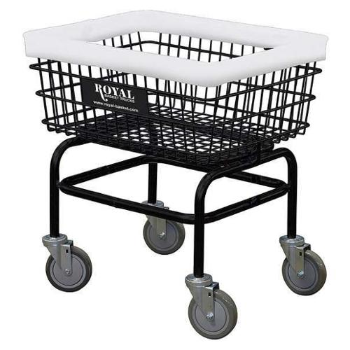 Laundry Cart, Black ,Royal, G27-BKX-W0A-5UNN
