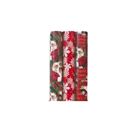 holiday time christmas wrapping paper plaid - Walmart Christmas Wrapping Paper