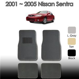 2000 2001 2002 2003 2004 2005 Nissan Sentra Floor Mats Set ALL FEES INCLUDED!