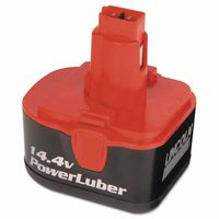 Lincoln PowerLuber 14.4 V Battery, Sold As 1 Each