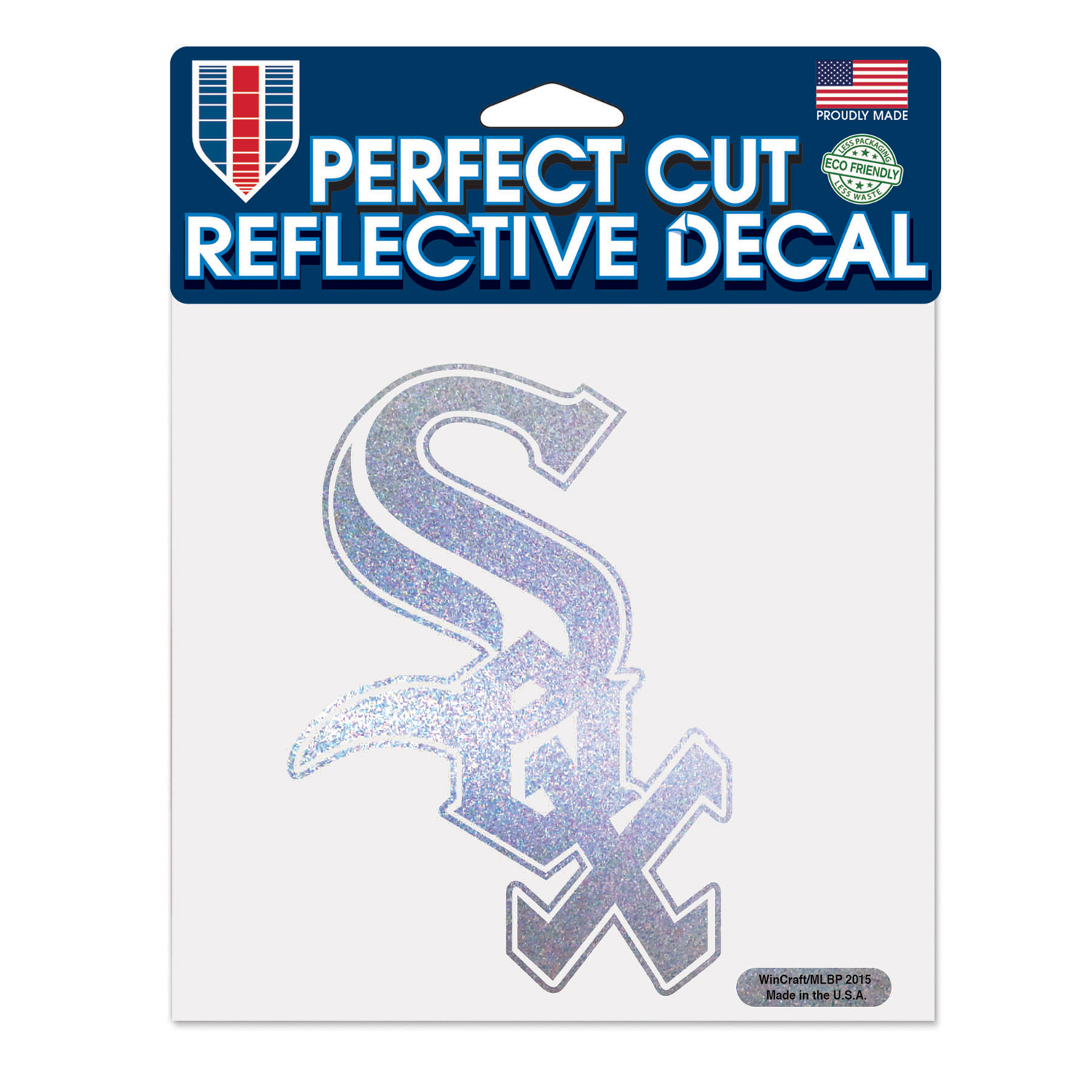 "Chicago White Sox WinCraft 6"" x 6"" Reflective Perfect Cut Decal - No Size"