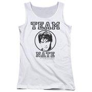 Gossip Girl Team Nate Juniors Tank Top Shirt