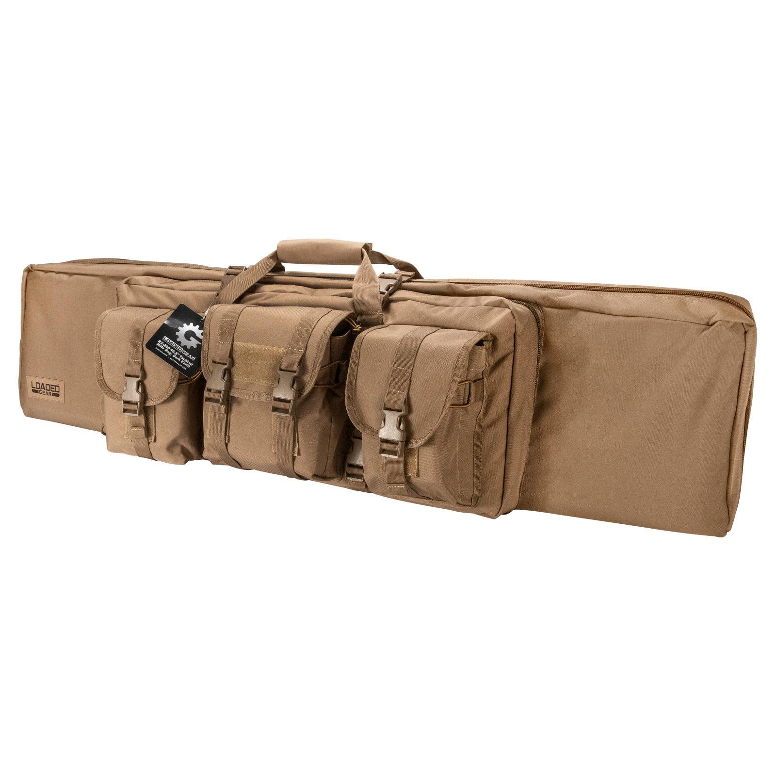 """Barska Optics Loaded Gear RX-200 45.5"""" Tactical Rifle Bag, Tan"""