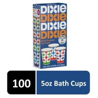 Dixie 5oz Multi-Purpose Paper Cups, 100ct