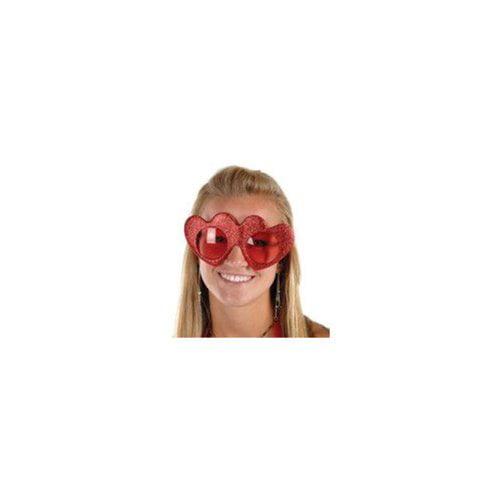 Beistle Glittered Heart Fanci-Frames Glittered Heart Fanc...