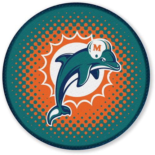"NFL Miami Dolphins 24"" Bath Rug"
