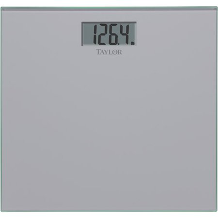 Taylor Tempered Glass Bath Scale  Silver