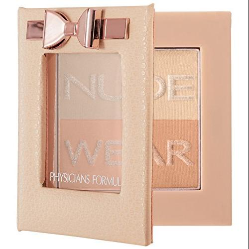 Physicians Formula Nude Wear Glowing Nude Powder, Light, 0.24 Ounce