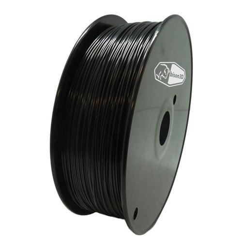 bison3D Filament for 3D Printing, 1.75mm, 1kg/roll, Black (PLA)