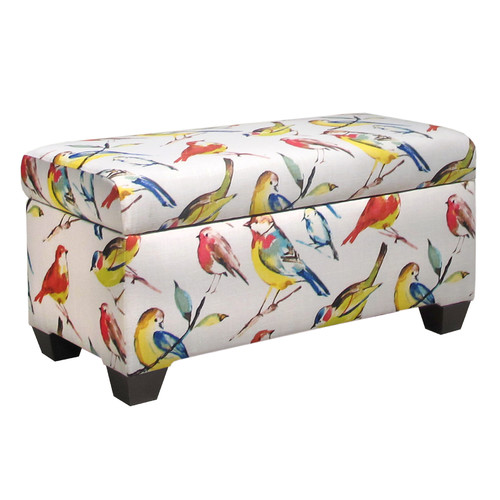 Gentil Skyline Furniture Birdwatcher Storage Bench