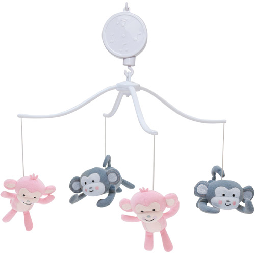 Lambs & Ivy Bedtime Originals Pinkie Musical Mobile